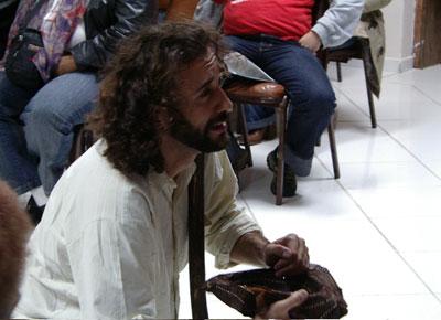 Danilo Nunes em 'A morte de Nanã'